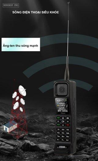 Điện thoại siêu bền, pin khủng, hỗ trợ sạc cho smartphone H9998