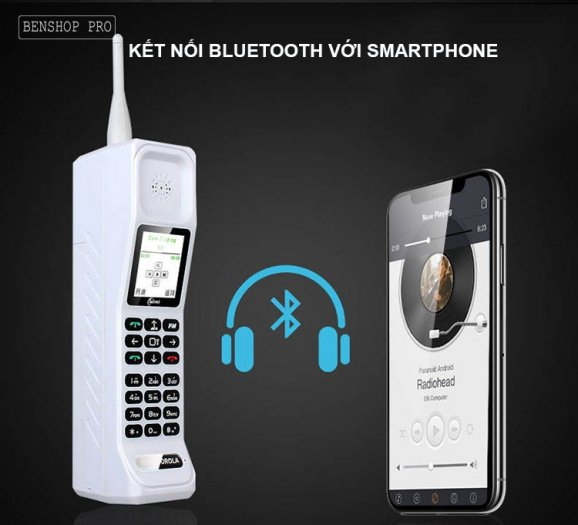 Điện thoại siêu bền, pin khủng, hỗ trợ sạc cho smartphone H9995