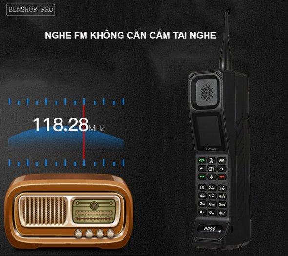 Điện thoại siêu bền, pin khủng, hỗ trợ sạc cho smartphone H9994