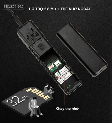 Điện thoại siêu bền, pin khủng, hỗ trợ sạc cho smartphone H9991