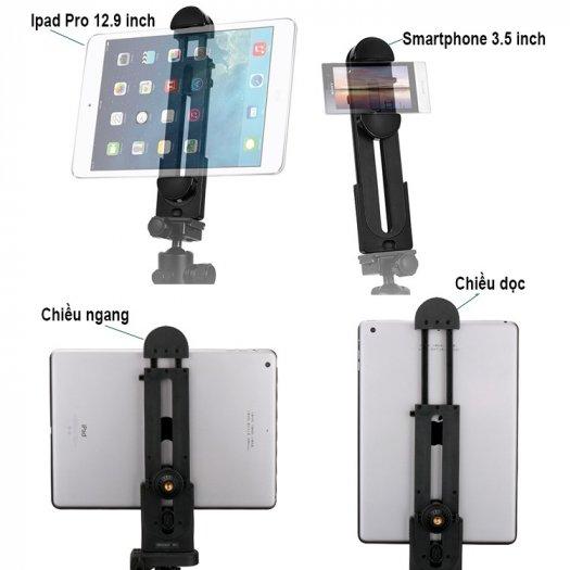 Giá kẹp máy tính bảng, điện thoại 5-12.9 inch IPS2
