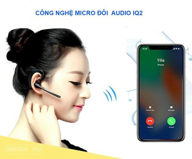 Tai nghe đeo sau tai không dây tích hợp microphone V8SCR8
