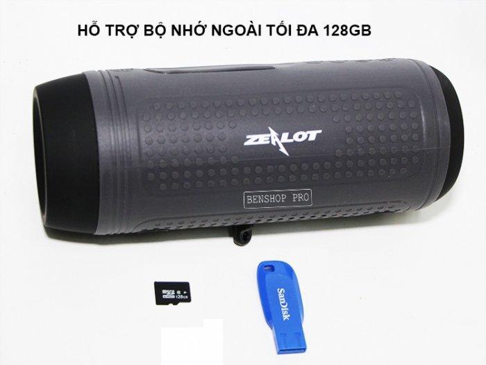 Loa bluetooth, đài, sạc dự phòng, đèn chiếu sáng cao cấp Zealot A19