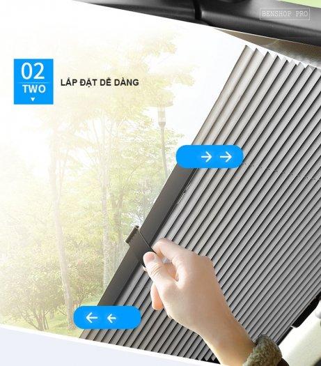 Rèm che nắng kính chắn gió chống tia UV cao cấp cho ô tô R8014