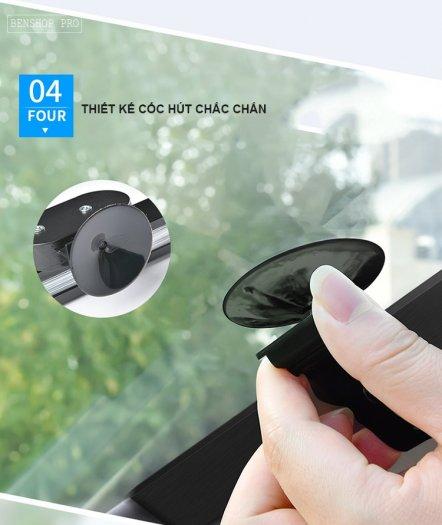 Rèm che nắng kính chắn gió chống tia UV cao cấp cho ô tô R8012
