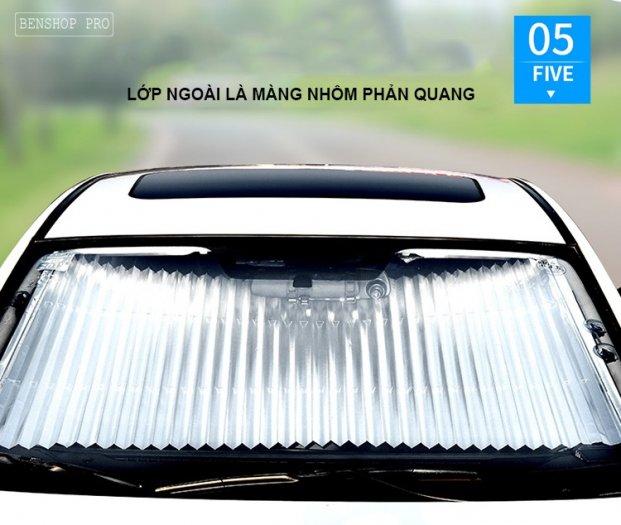 Rèm che nắng kính chắn gió chống tia UV cao cấp cho ô tô R8011