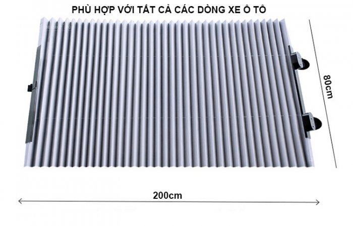 Rèm che nắng kính chắn gió chống tia UV cao cấp cho ô tô R806