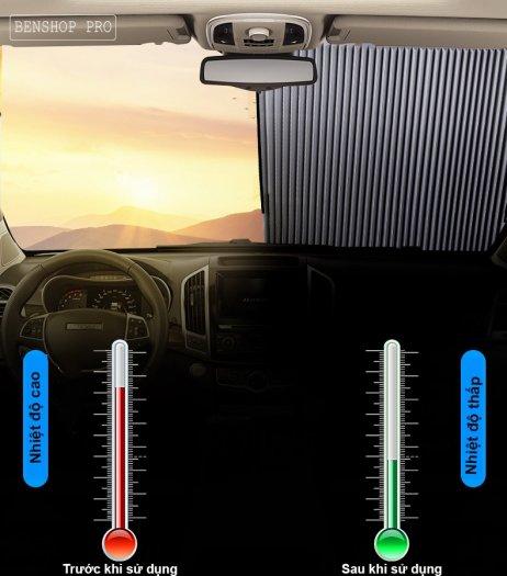 Rèm che nắng kính chắn gió chống tia UV cao cấp cho ô tô R804