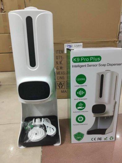 Máy rửa tay sát khuẩn tích hợp đo nhiệt độ K9PP4