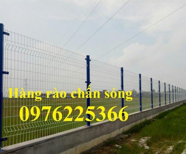 Hàng rào lưới thép, hàng rào mạ kẽm, sơn tĩnh điện, hàng rào nhà kho6