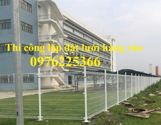 Hàng rào lưới thép, hàng rào mạ kẽm, sơn tĩnh điện, hàng rào nhà kho0