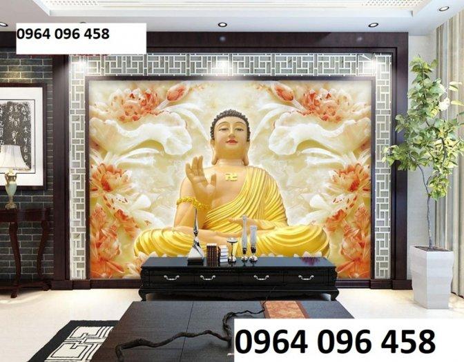 Tranh phật 3d - tranh gạch 3d hình phật - SKG431