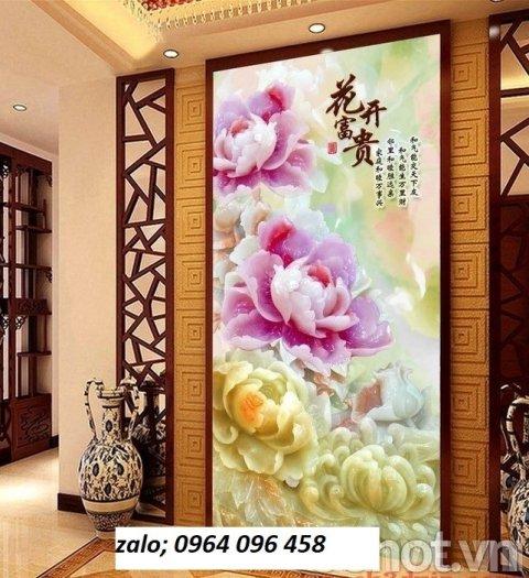 Gạch tranh 3d hoa giả ngọc - LHD328