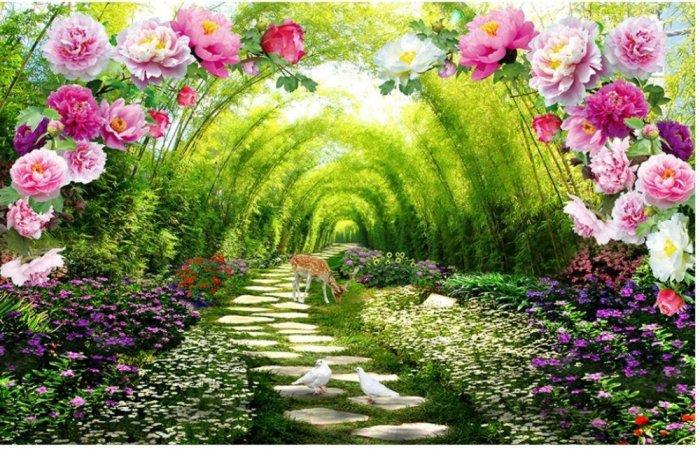 Tranh phong cảnh đẹp - tranh gạch 12