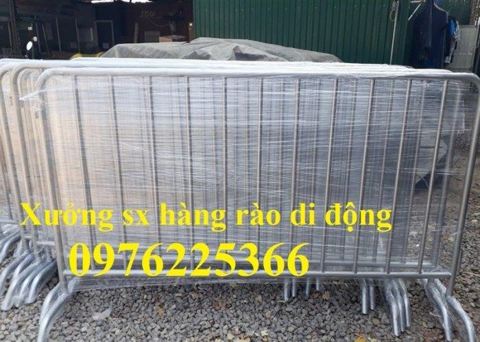 Chuyên sản xuất khung hàng rào di động 1x2m, 1.2x2m4