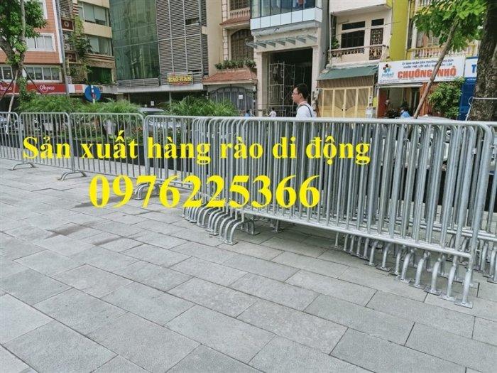 Chuyên sản xuất khung hàng rào di động 1x2m, 1.2x2m2