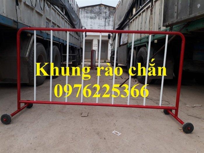 Chuyên sản xuất khung hàng rào di động 1x2m, 1.2x2m1