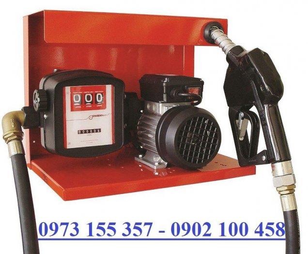 Bộ Bơm dầu Gespasa S-75,bộ bơm dầu kèm đồng hồ điện 220V,bộ bơm xăng dầu min chạy điện0