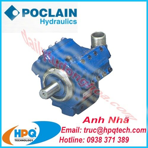 Nhà cung cấp bơm thủy lực Poclain chính hãng tại Việt Nam0