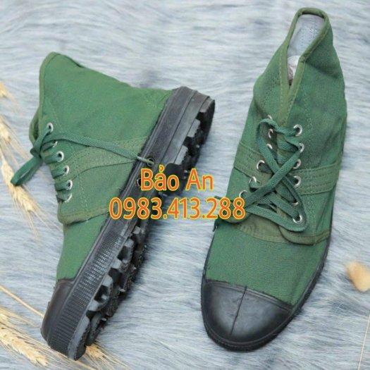 Giày vải bộ độ cao cổ0