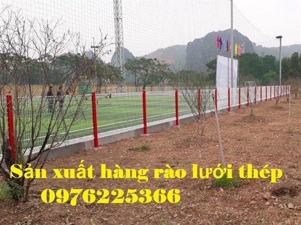 Hàng rào lưới thép, hàng rào gập đầu, hàng rào chấn sóng6