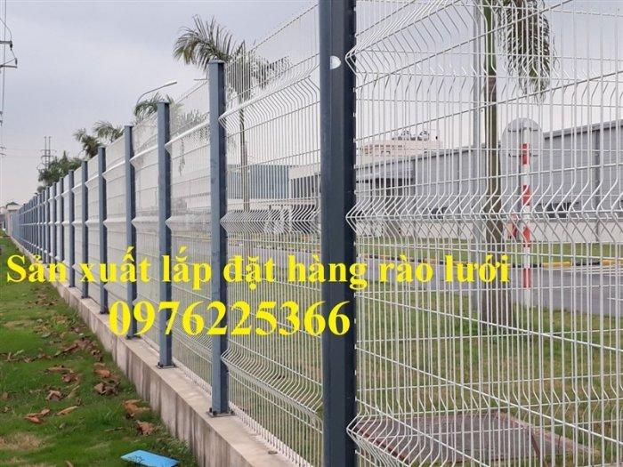 Mẫu hàng rào lưới thép, giá hàng rào lưới thép mới nhất0