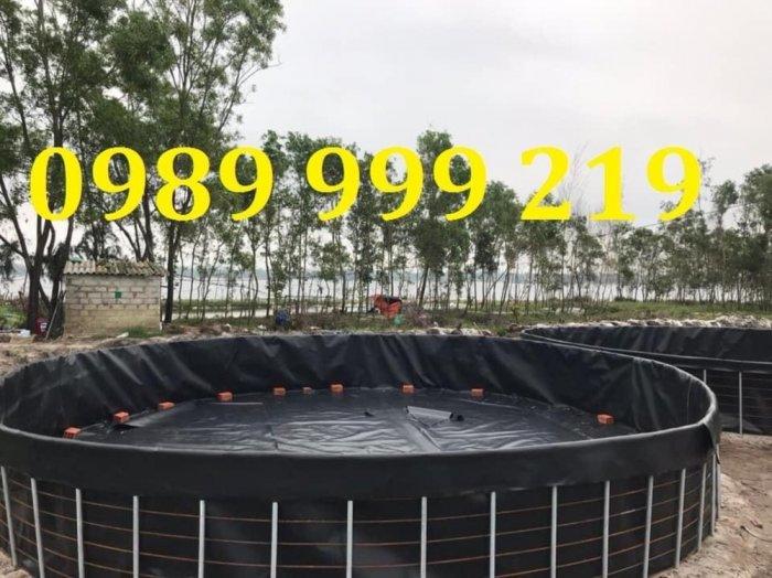 Tấm bạt đen hdpe 2mm khổ 4mx50m cuộn 200m2 lót hố rác thải3