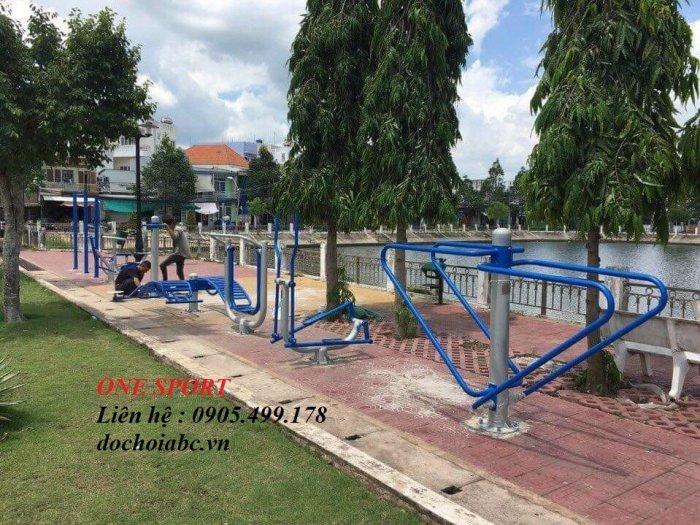 Cung cấp thiết bị dụng cụ tập thể dục công viên giá rẻ tại Việt Nam1