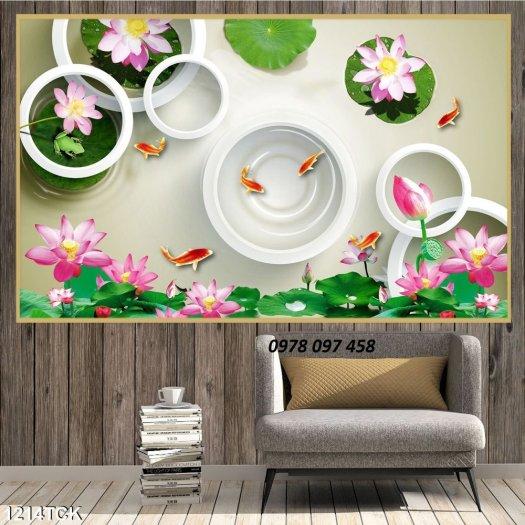 Tranh đẹp dán tường - tranh gạch3