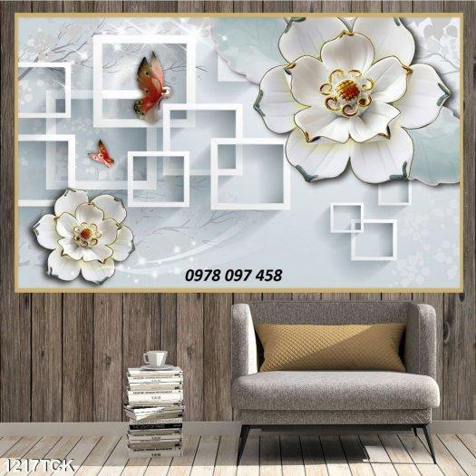 Tranh đẹp dán tường - tranh gạch2
