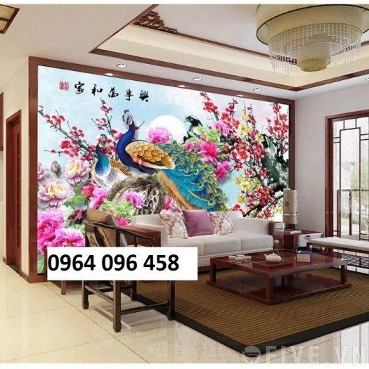 Tranh 3d trang trí tường phong ngủ - SXGD38