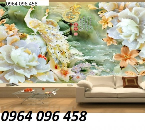 Tranh 3d trang trí tường phong ngủ - SXGD33