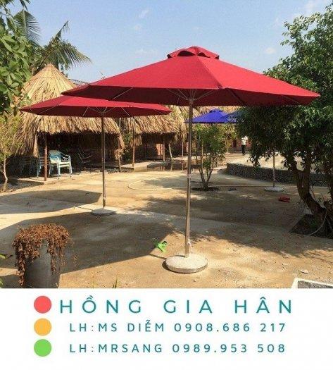Dù che mưa nắng giá rẻ nhất TP.HCM Hồng Gia Hân X0070