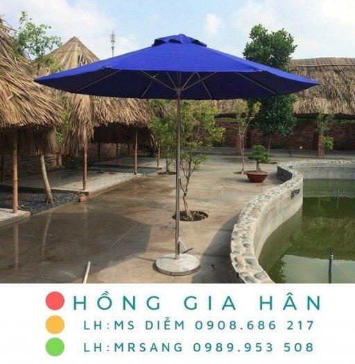 Dù che mưa nắng quán cafe, quán ăn, nhà hàng, sân vườn Hồng Gia Hân D0060
