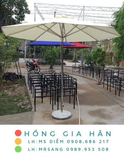Dù che trang trí cho quán cafe, quán ăn, nhà hàng, khách sạn Hồng Gia Hân D0050