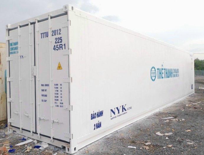 Thùng container lạnh 40feet chứa thực phẩm1
