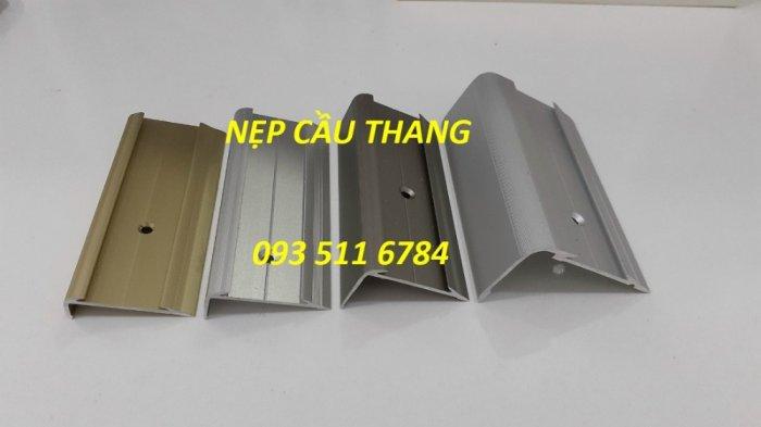 Nẹp chống trơn bậc cầu thang - Nẹp nhôm kim loại - Nẹp T inox màu1