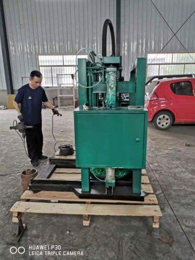Máy chiết mỡ bò, máy chiết định lượng mỡ bò từ thùng phi2