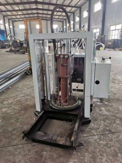 Máy chiết mỡ bò, máy chiết định lượng mỡ bò từ thùng phi4