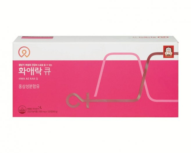 Viên hồng sâm dành cho phụ nữ  HWA AE RAK Q 500mgx120 viên6