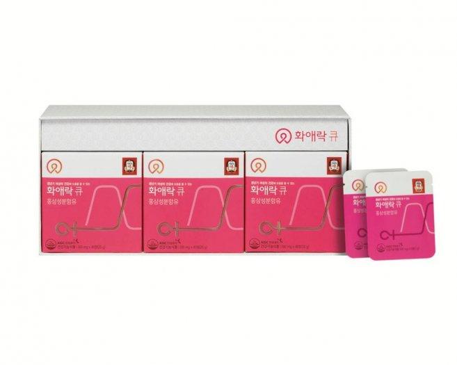 Viên hồng sâm dành cho phụ nữ  HWA AE RAK Q 500mgx120 viên5