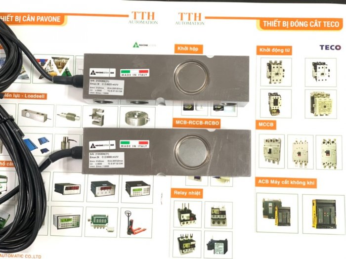 Loadcell thanh SBR - sản xuất Italy. Nhập Khẩu Chính Hãng bởi TTH-Automation0