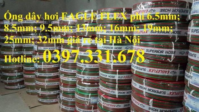 Ống dây hơi EAGLE FLEX phi 6.5mm; 8.5mm; 9.5mm; 13mm; 16mm; 19mm; 25mm; 32mm giá rẻ tại Hà Nội4