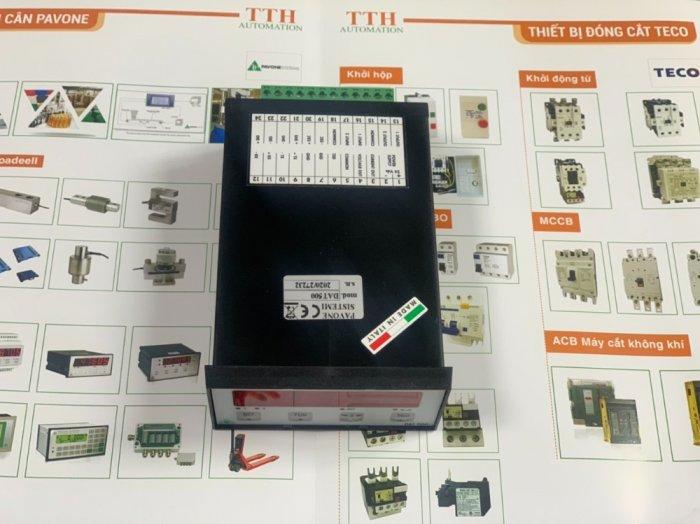 Đầu cân điện tử DAT500 Analog(0-10V & 4-20mA). Nhập Khẩu Chính Hãng Italy3
