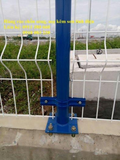 Hàng rào lưới thép hàn chấn sóng, mạ kẽm sơn tĩnh điện- Nhật Minh Hiếu3