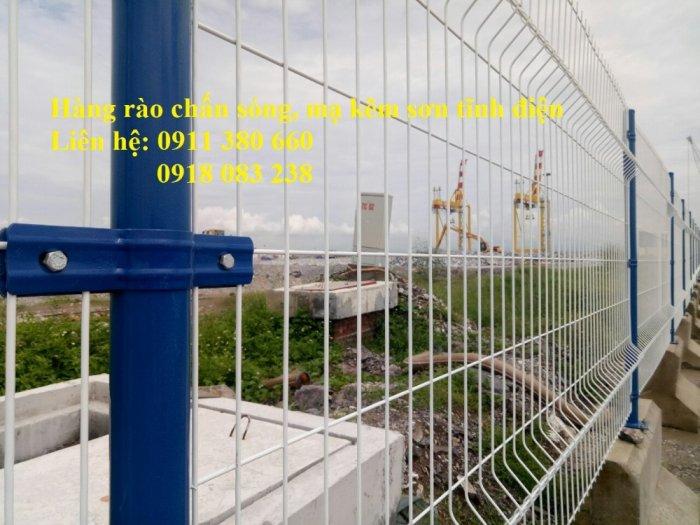Hàng rào lưới thép hàn chấn sóng, mạ kẽm sơn tĩnh điện- Nhật Minh Hiếu2