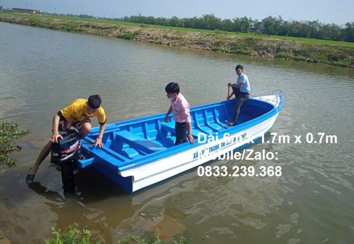 Cano composite du lịch 10 người, vận tải hàng hóa 1400kg2