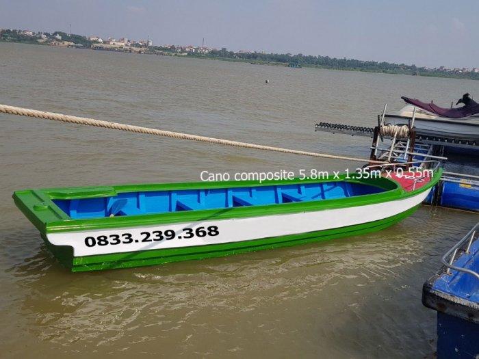 Cano composite du lịch 10 người, vận tải hàng hóa 1400kg0