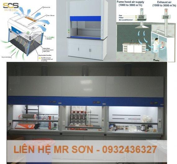 Tủ hút khí độc kích thước 1500MM8