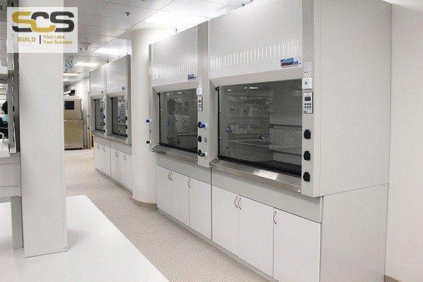 Tủ hút khí độc kích thước 1200MM3